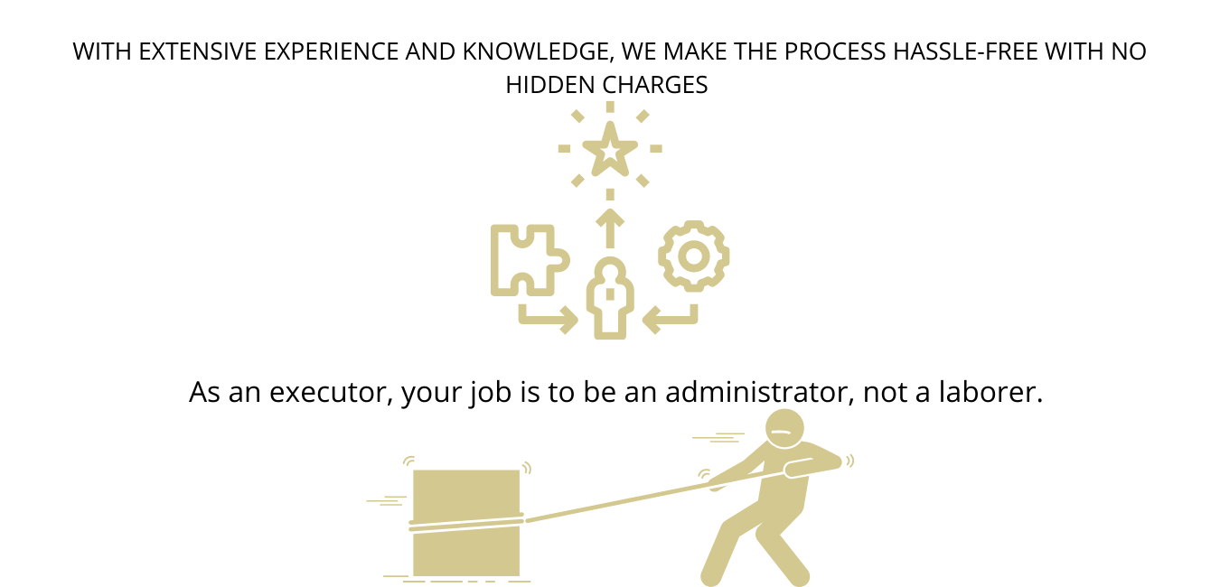 Executors & POA'S are administrators, not labourers